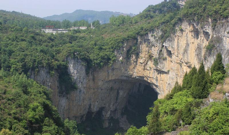 贵州织金大峡谷景点图片