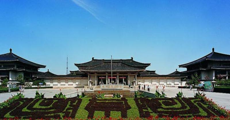 陕西历史博物馆景点图片