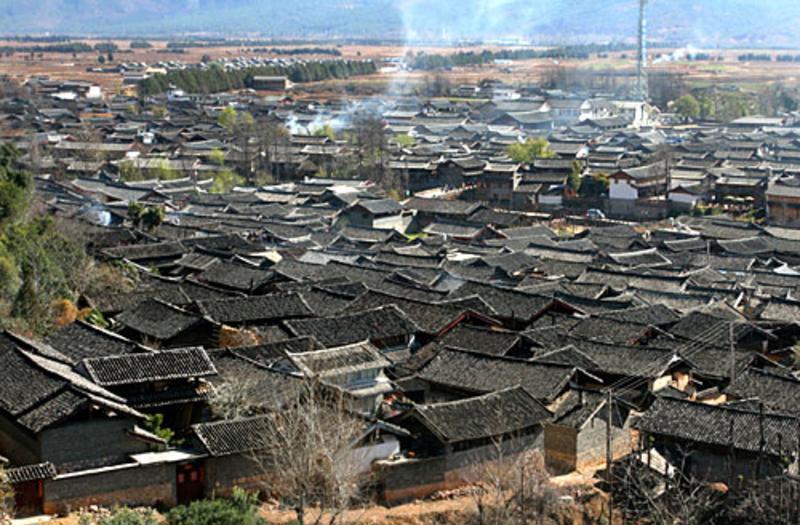 丽江束河古镇景点图片
