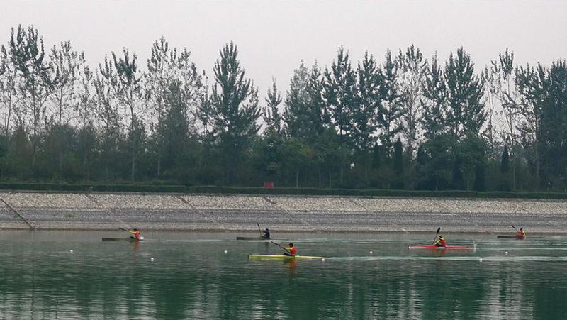 西安杨凌水上体育运动中心景点图片
