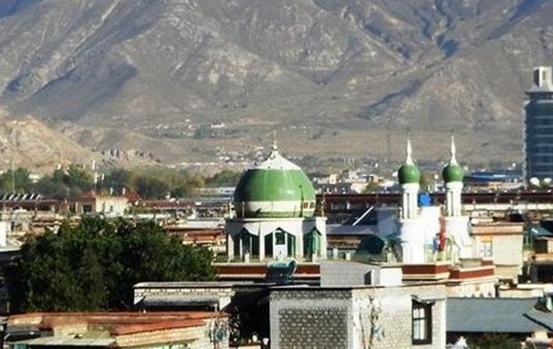 西藏拉萨清真寺景点图片