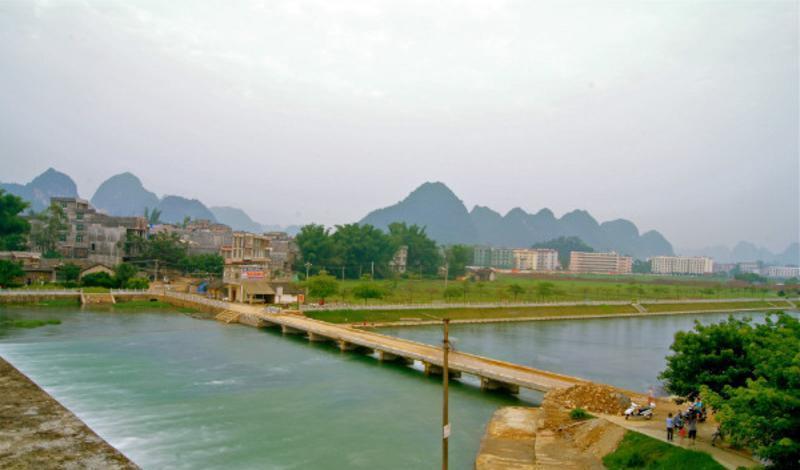 靖西大龙潭水库景点图片
