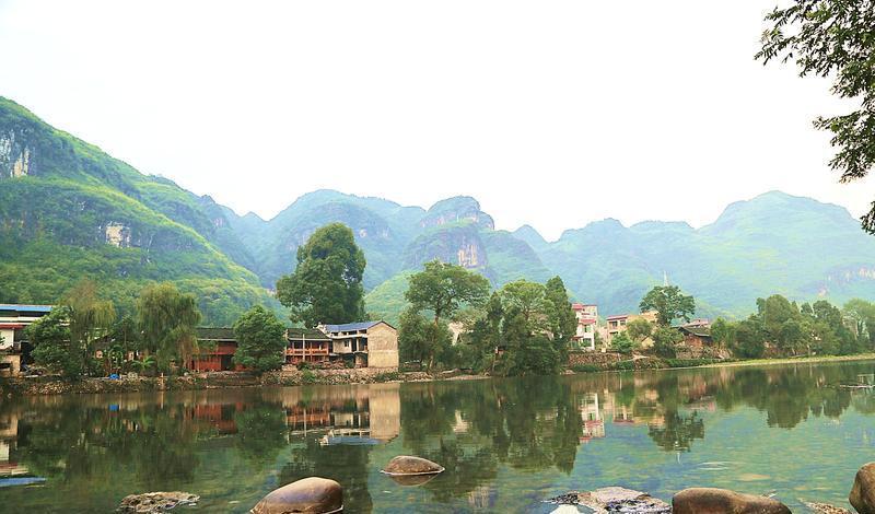 铜仁江口云舍旅游景点图片