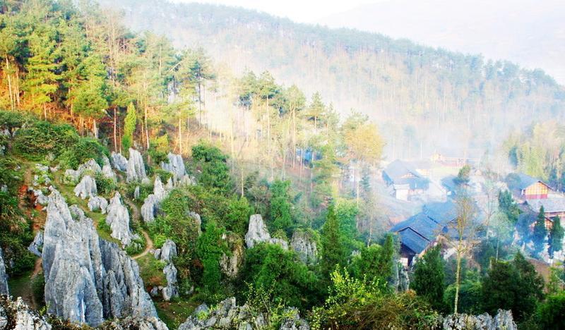 铜仁思南温泉石林景点图片