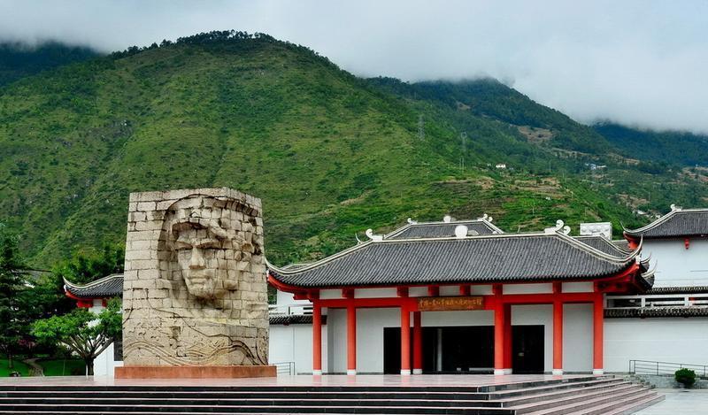 雅安石棉安顺场旅游旅游风景图片
