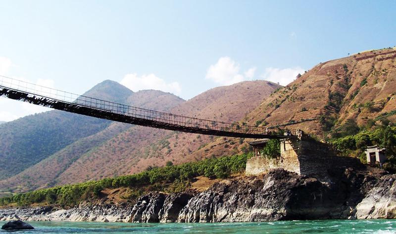 云南怒江大峡谷景点图片