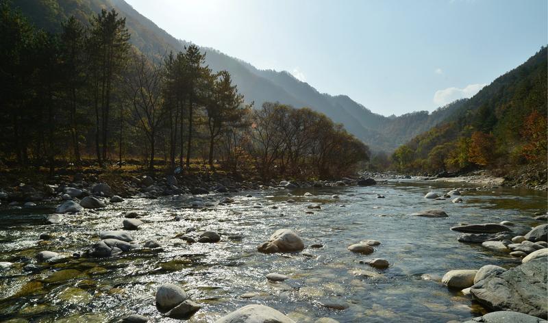 陕西黑河国家森林公园旅游风景图片