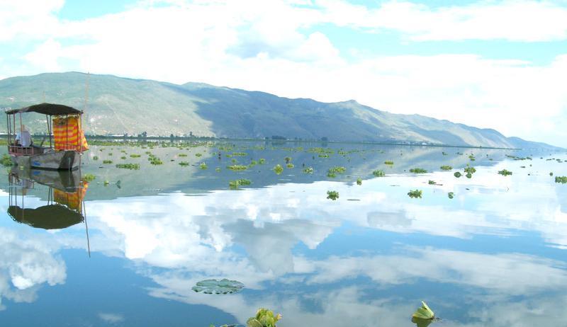 石屏异龙湖景点图片