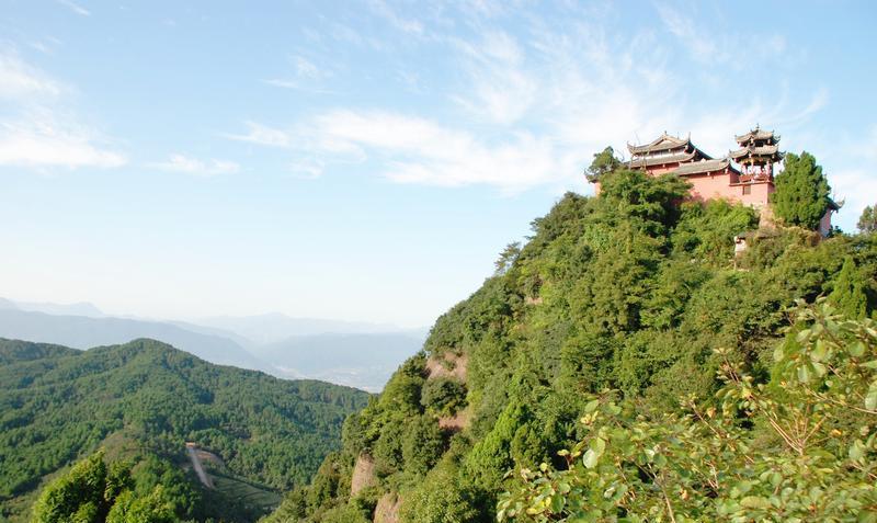 广元牛头山风景点图片