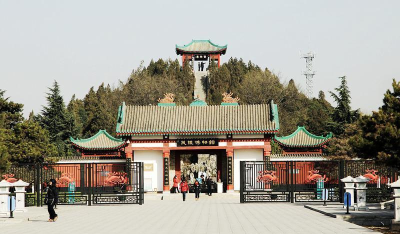 陕西汉茂陵博物馆