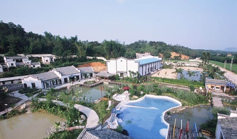 陆川谢鲁温泉景点图片