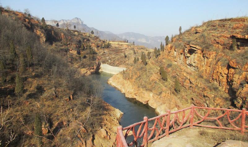郑州新密伏羲大峡谷 之 望乡台风景图片
