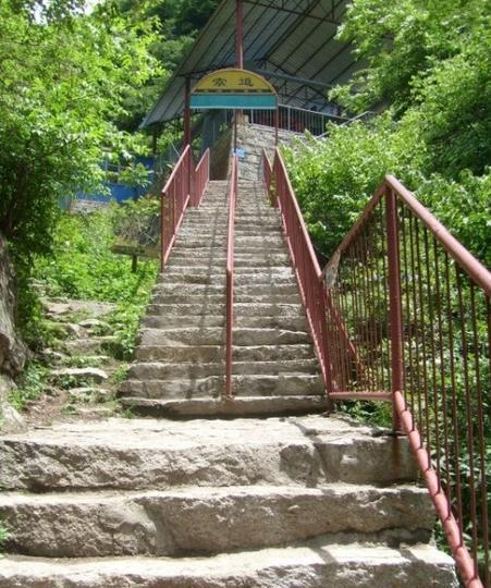 蓝田王顺山国家森林公园 之 索道风景图片
