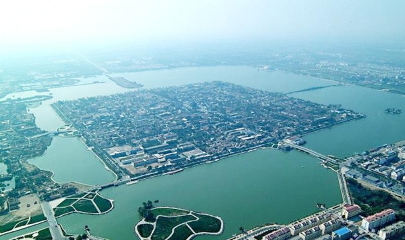 聊城中华水上古城景点图片