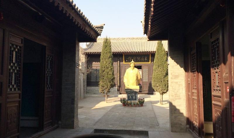 蒲城王鼎纪念馆的图片和照片
