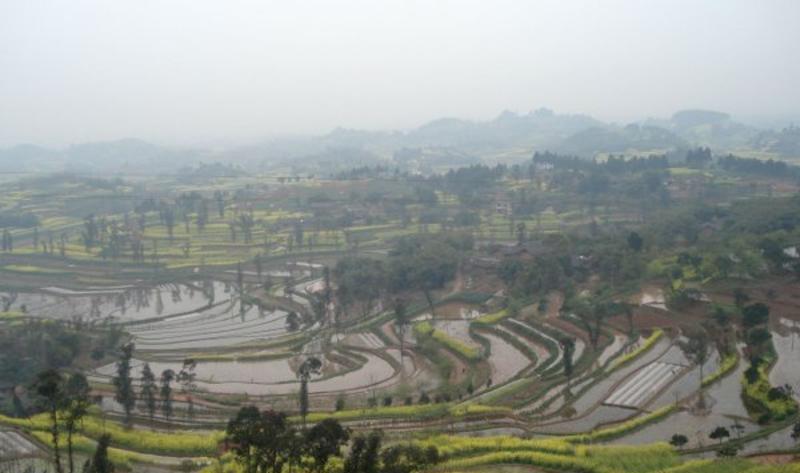 自贡尖山自然风景点图片
