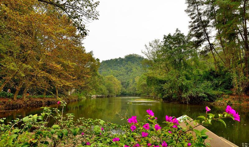 贵阳阿哈湖国家湿地公园景点图片