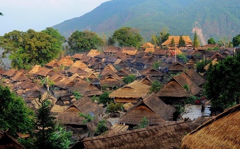 沧源翁丁佤族村寨