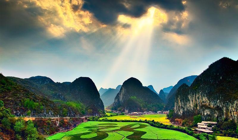 安顺龙宫风景点图片