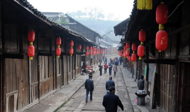 泸州尧坝古镇景点图片