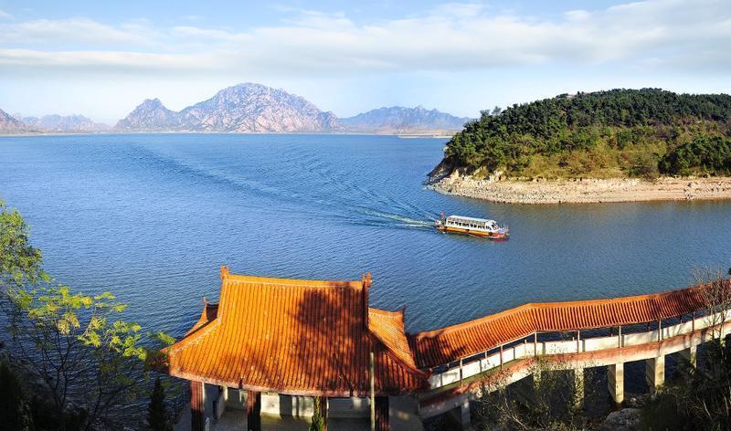 莒南天马岛旅游区景点图片