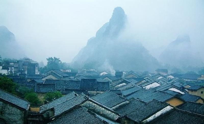 广西黄姚古镇景点图片