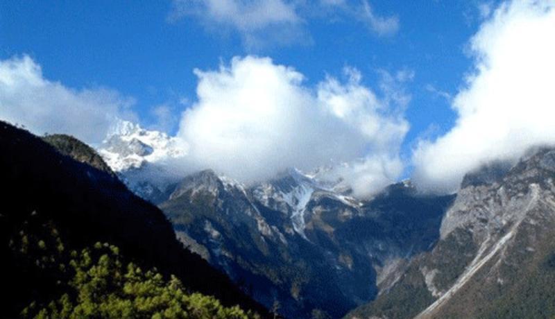 临沧大雪山风景点图片
