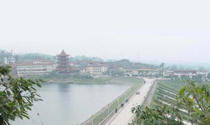 自贡双溪风景点图片