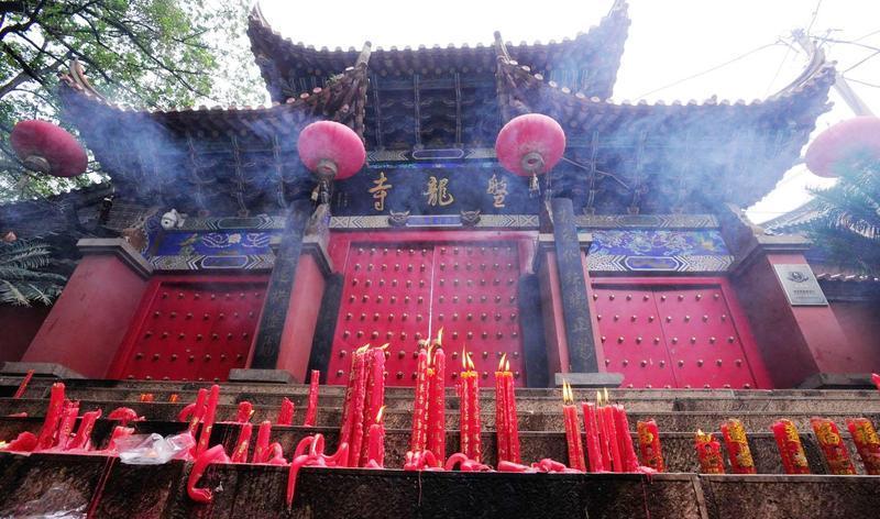 昆明晋宁盘龙寺景点图片