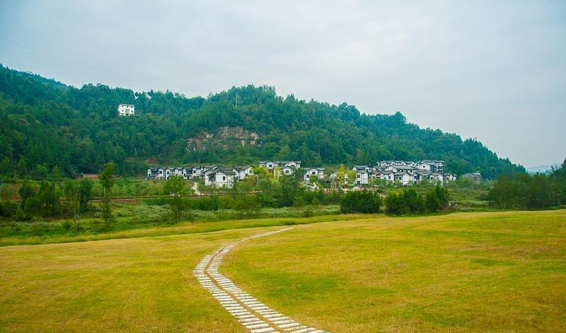 平昌驷马水乡旅游区 之 景区的图片和照片