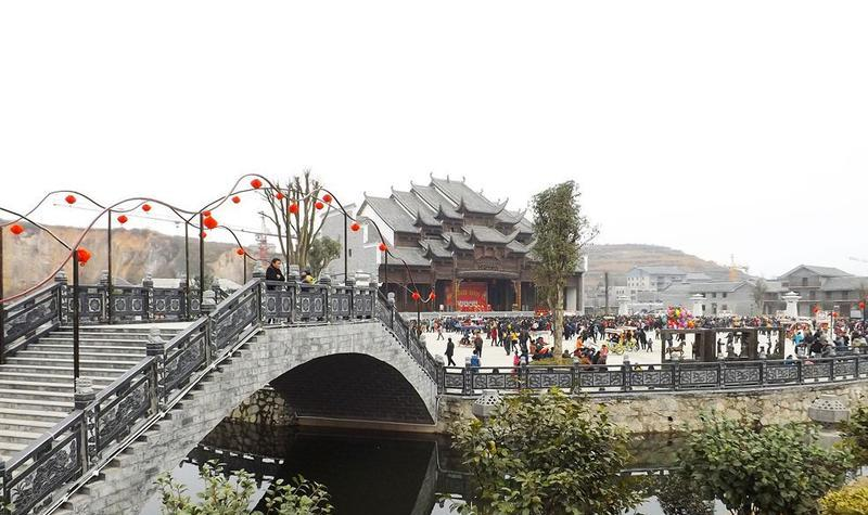 黔南瓮安草塘千年古邑旅游区景点图片