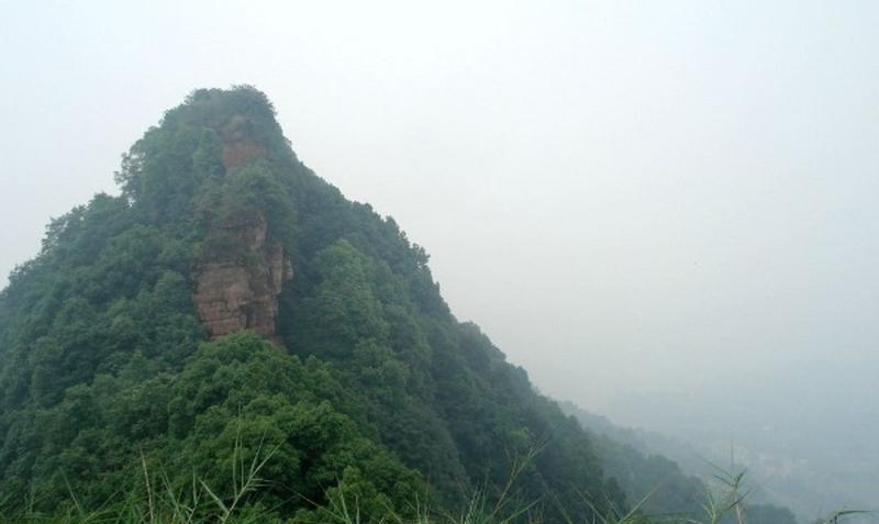 泸州笔架山风景点图片