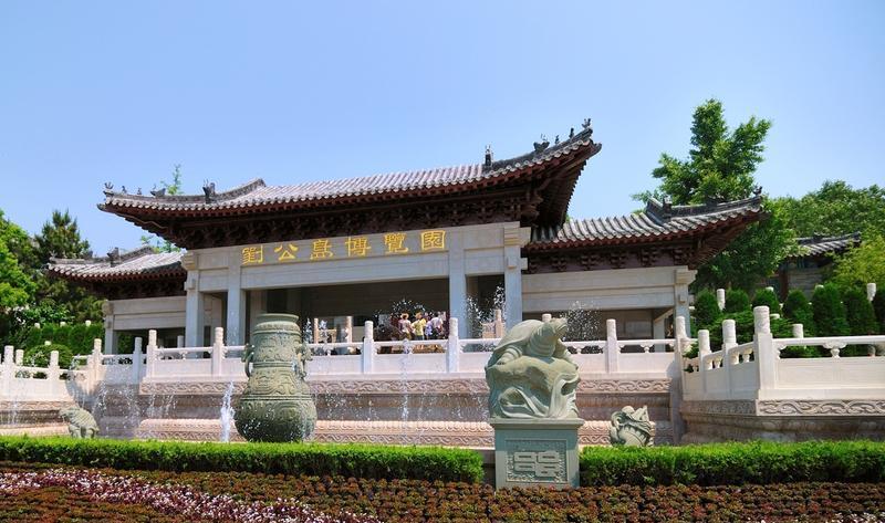 威海刘公岛博览园景点图片