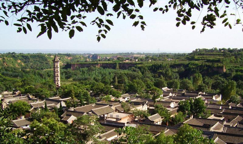 渭南韩城党家村的图片和照片