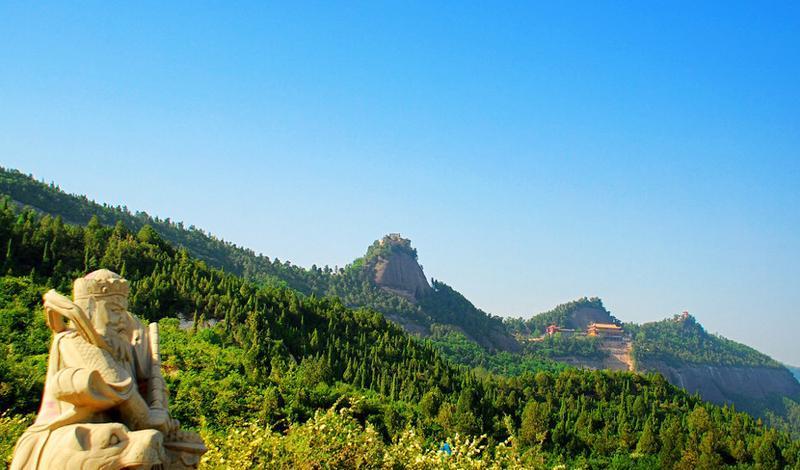 铜川香山景点图片