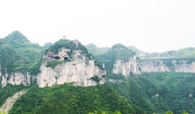 铜仁万山国家矿山公园景点图片