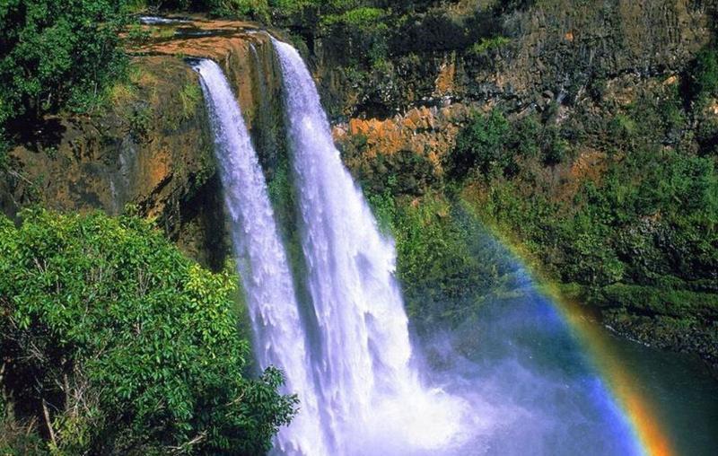 腾冲叠水河瀑布景点图片