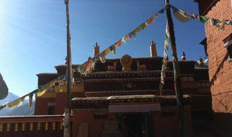 西藏科迦寺景点图片