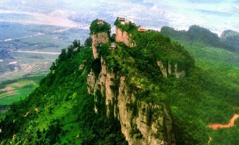 绵阳窦圌山风景点图片