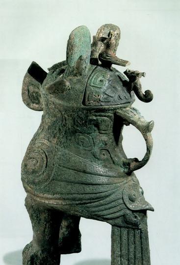 河南博物院 之 妇好鸮尊风景图片