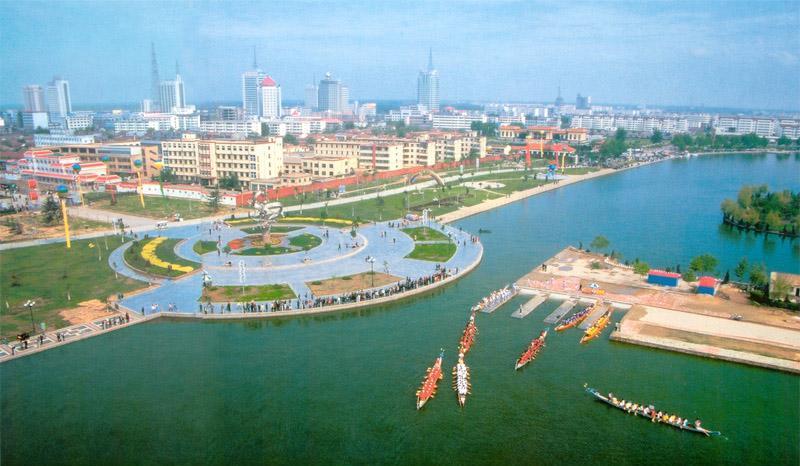 聊城东昌湖旅游区景点图片