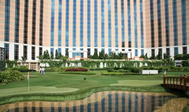 威尼斯人度假村酒店 之 君度小型高尔夫球场风景图片