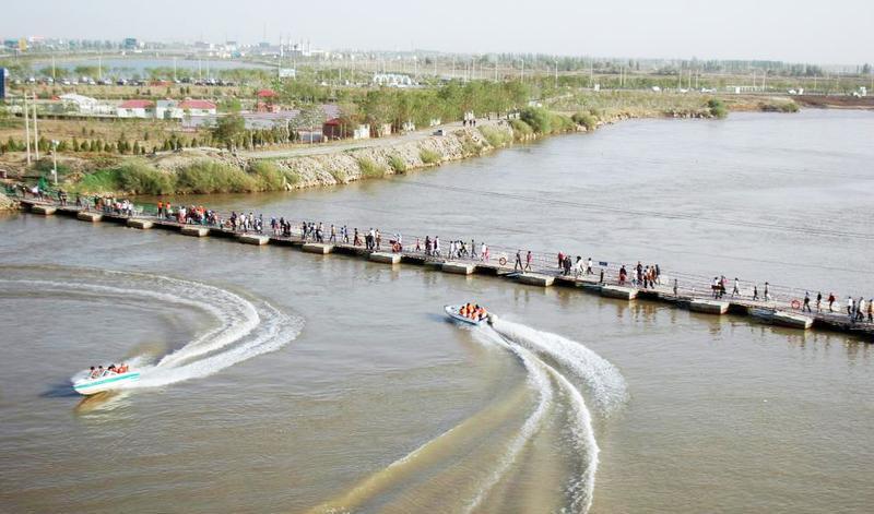 青铜峡黄河生态园旅游风景图片