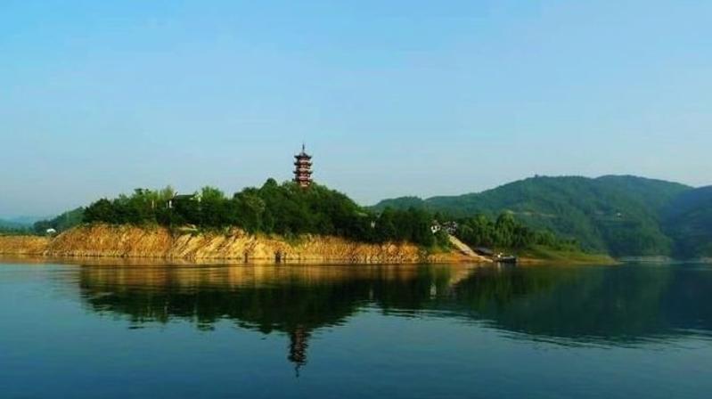 安康市瀛湖风景点图片