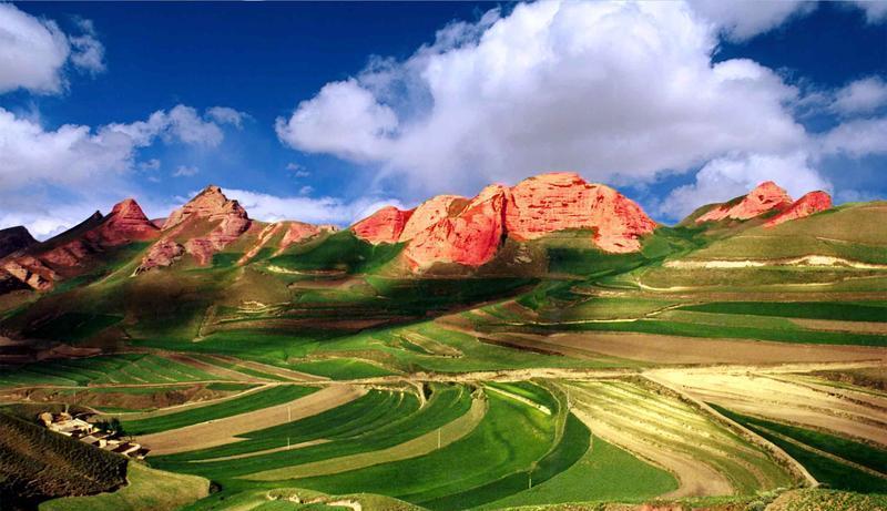 宁夏西吉火石寨国家地质公园景点图片