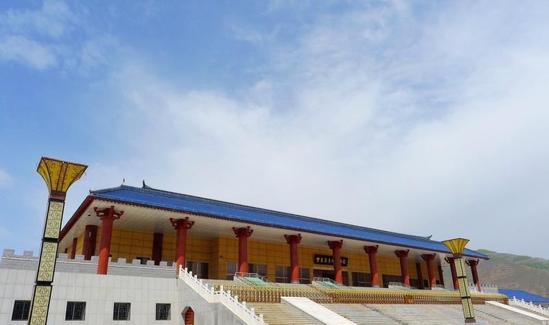 陇南甘肃秦文化博物馆