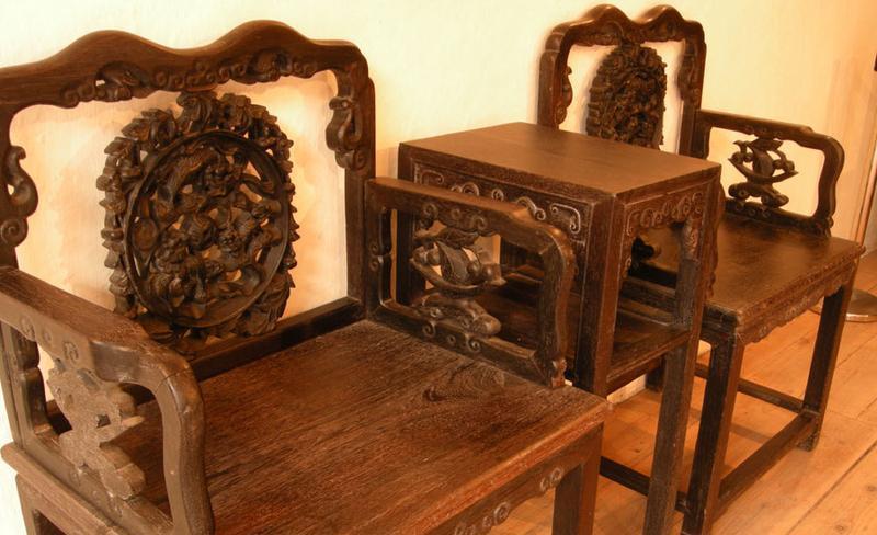 郑家大屋 之 红木桌椅风景图片