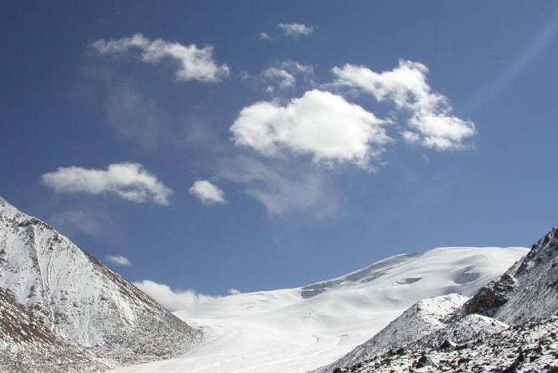 祁连山七一冰川