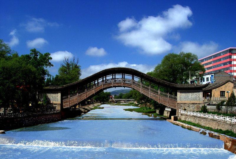 渭源灞陵桥景点图片