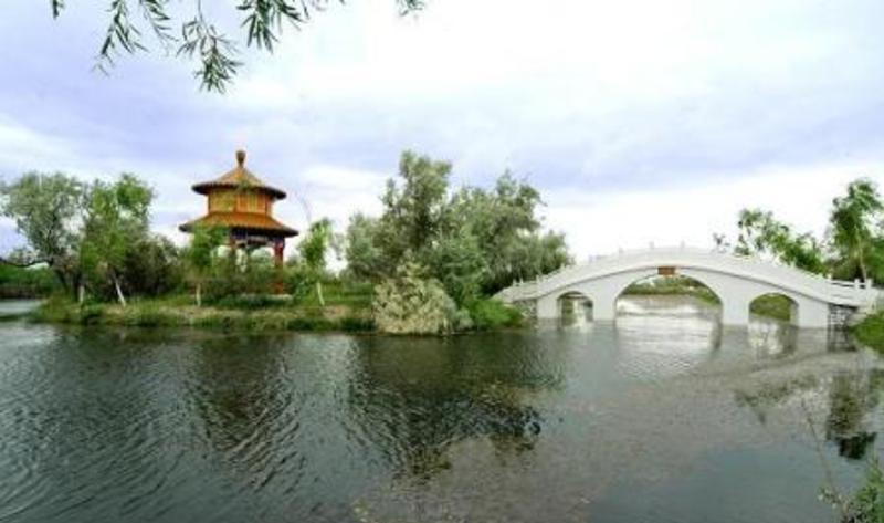 清水湖生态度假村景点图片